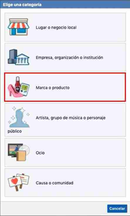 categoría-pagina
